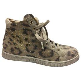 Roberto Cavalli-Sneakers-Beige