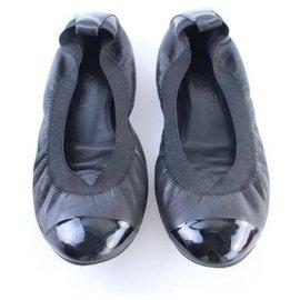 Chanel-Cap Toe Ballerina Flats-Other