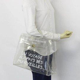 Hermès-Translucent 1997 Souvenir L'exposition Clear Kelly-White