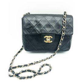 Chanel-Chanel Classique bag small model-Black