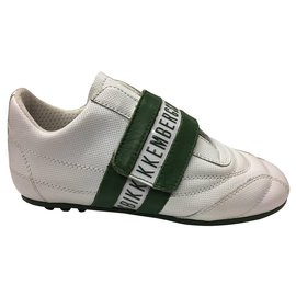Dirk Bikkenbergs-Sneakers-White,Green