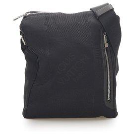 Louis Vuitton-Louis Vuitton Black Damier Geant Citadin-Black