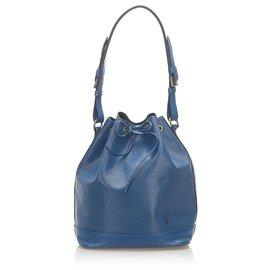 Louis Vuitton-Louis Vuitton Blue Epi Noe-Blue