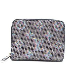 Louis Vuitton-Louis Vuitton Multicolor Pop Damier Monogram Zippy Wallet-Multiple colors