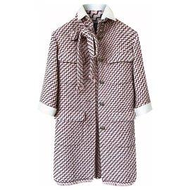 Chanel-12K$ Paris-Rome Tweed Coat-Multiple colors