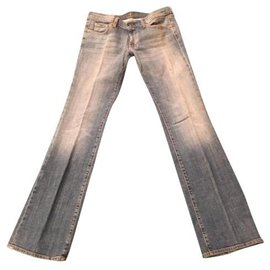 7 For All Mankind-Jeans-Light blue
