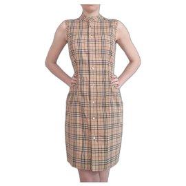 Burberry-Dresses-Light brown