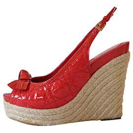 Christian Dior-Sandals-Red