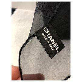 Chanel-SCIARPA-Black