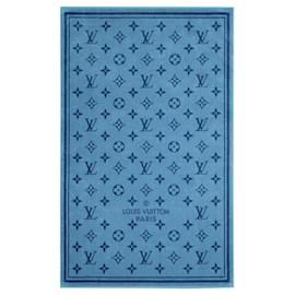 Louis Vuitton-Toalha de praia LV nova-Azul