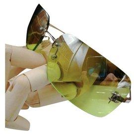 Chanel-Sunglasses-Green