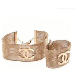 Chanel-Jewellery sets-Gold hardware