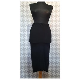 Acne-Skirts-Black