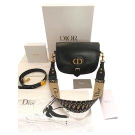 Dior-Bobby large model and additional shoulder strap-Black