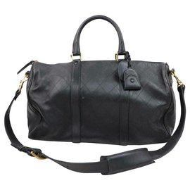Chanel-Quilted Lambskin Boston Duffle with Strap-Other