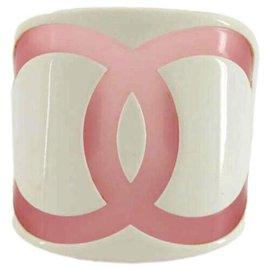 Chanel-01P CC Logo Cuff Bracelet Bangle-Other