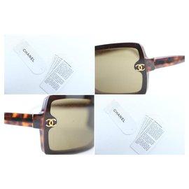 Chanel-Tortoise CC Sunglasses 5065 C.502/73 1CR859-Other