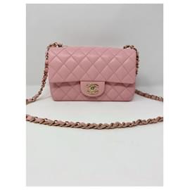 Chanel-Chanel Mini Flap Pink neuen Sommer 2021-Pink