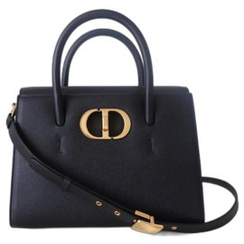 Dior-Dior St Honoré medium bag-Black