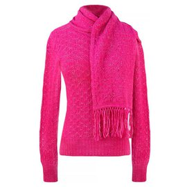 Chanel-Paris-Bombay scarf&sweater-Other