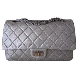 Chanel-Chanel Bag 2.55 maxi-Grey