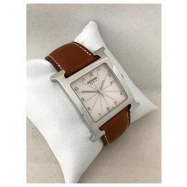 Hermès-Quartz Watches-White