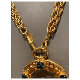 Chanel-Collector-Blue,Golden