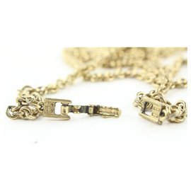 Givenchy-Gold Chain Jumbo Pearl Necklace-Other