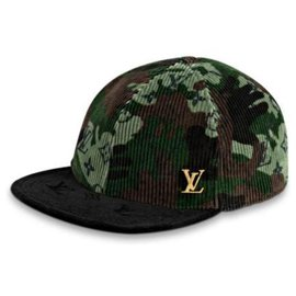 Louis Vuitton-Monogramouflage Easy Fit Camouflage Baseball Cap Hat Size 58 -Other