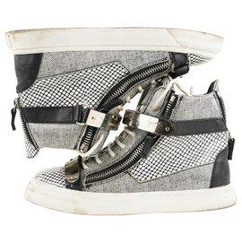 Giuseppe Zanotti-Women's 38 May London Sneaker-Other