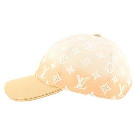 Louis Vuitton-Large Peach Mist By the Pool Gradient Cap Ou Pas Baseball Cap Hat 937l-Other