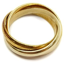 Cartier-US size 4 18k Trinity Ring-Other
