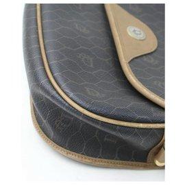 Dior-Flap Monogram Oblique Signature Trotter Black Long-Other