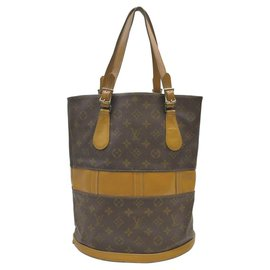 Louis Vuitton-Monogram Marais Bucket GM Tote Bag-Other