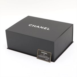 Chanel-Black Quilted Mini Top Handle Box Chain Flap Crossbody Boy-Other