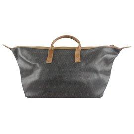 Dior-XL Black Monogram Trotter Honeycomb Duffle Convertible Travel Bag-Other