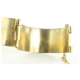 Chanel-Chain Pin Address x Phone Cambon Cuff Bangle Bracelet-Other