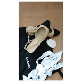 Chanel-slingback-Beige
