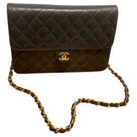 Chanel-TIMELESS-Dark brown