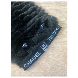Chanel-Scarves-Black