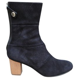 Acne-Acne p ankle boots 38-Black