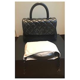 Chanel-Chanel Small So Black Coco Handle bag-Black