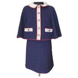 Chanel-ULTRA RARE Paris/Salzburg Suit-Navy blue