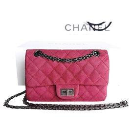 Chanel-2.55 mini-Fuschia