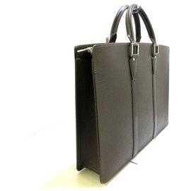Louis Vuitton-Louis Vuitton Porte Documents-Grey