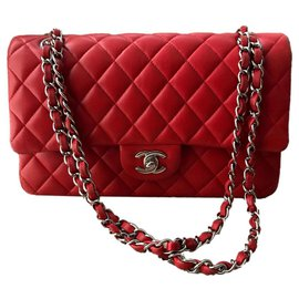 Chanel-Classic Timeless Medium-Red