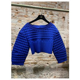 Chanel-Tops-Blue