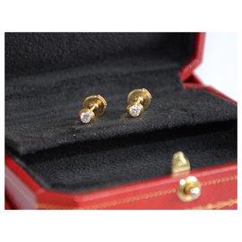 Cartier-Cartier Light Diamonds MM earrings-Golden