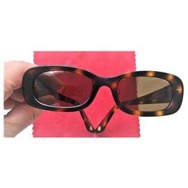 Chanel-Pair of CHANEL sunglasses model 5011 - Year 2000-Brown,Other,Hazelnut,Chestnut,Chocolate,Dark brown