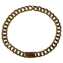 Chanel-Chanel vintage chain belt-Gold hardware